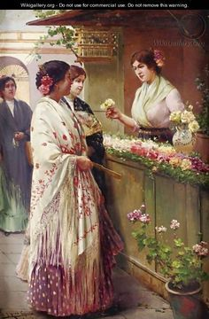 Un manton de Manila... on Pinterest | Manila, Spanish and Sevilla www.pinterest.com236 × 360Buscar por imagen The Flower Seller https://es.pinterest.com/anakarmo/pintura-costumbrista