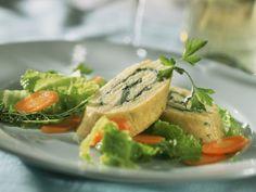 Kartoffelrolle mit Schinken-Gemüse-Füllung ist ein Rezept mit frischen Zutaten aus der Kategorie Kartoffel. Probieren Sie dieses und weitere Rezepte von EAT SMARTER!