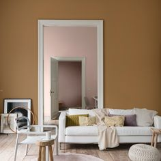 We talk to the experts to reveal the paint trends for From the Farrow & Ball new paint shades to Dulux Colour of the Year, it's all here. Bathroom Paint Colors, Paint Colors For Living Room, Interior Paint Colors, Interior Design, Dulux Paint Colours For Bedroom, Room Color Schemes, Mixed Emotions, Amber, Colour Trends