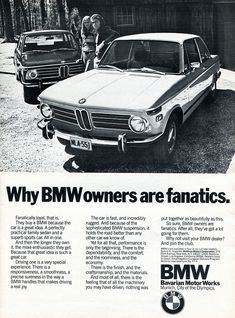 1972 BMW Advertising Road&Track August 1972 | Flickr - Photo Sharing!