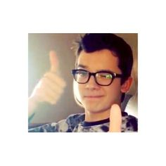 asa!!>>>>that moment when you realize you have glasses that look similar to his.