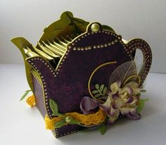Felt Crafts, Diy And Crafts, Arts And Crafts, Paper Crafts, Decoupage Art, Decoupage Vintage, Diy Projects To Try, Craft Projects, Tea Party Crafts