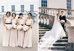 This beautiful dusty pink wedding held at the Queen's House in Greenwich, London was a delicate mix of classical architecture, blush tones and fun touches to entertain guests. Dusty Pink Weddings, London Wedding, Classic Elegance, Bridesmaid Dresses, Wedding Dresses, Hurley, Queens, Wedding Venues, Wedding Inspiration
