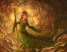 Zooey Deschanel, Fantasy World, Fantasy Art, Supernatural, Indie, Orange Paper, 242, Character Illustration, Archaeology