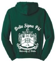 Cool Delta Sigma Phi hoodie!  Not gonna lie, I would rock this