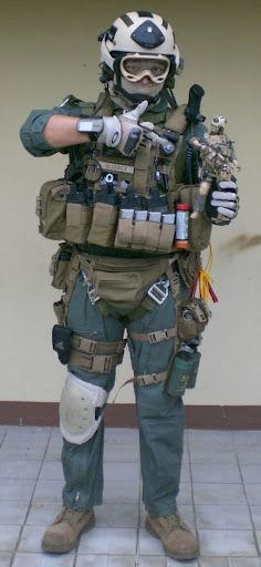 My tacticcool inspiration is a doll. Err action figure.