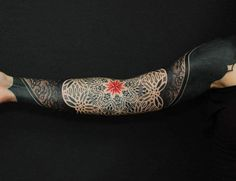 geometric sleeve tattoos - Google Search