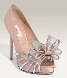 c58fc234e Valentino Crystal Bow Pumps - The master of couture and contemporary styles  has done it again with the Valentino Crystal Bow Pumps.