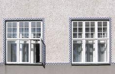 Sanatorium Purkersdorf - Wikipedia, the free encyclopedia Joseph Hoffman Koloman Moser, Joseph Hoffman, Library Ladder, Gustav Klimt, Belle Epoque, Contemporary Architecture, Door Design, Windows And Doors, Art Nouveau