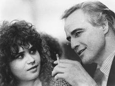 "Maria Schneider & Marlon Brando in ""Last Tango In Paris"""