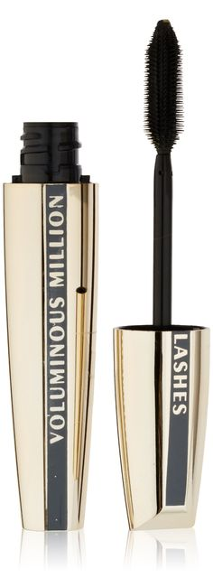 87a2d5f5fe0 Amazon.com : L'Oreal Paris Voluminous Million Lashes Mascara, Carbon Black,  0.29 Ounces : Loreal Mascara : Beauty