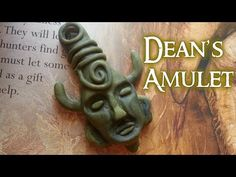 Supernatural Dean's Amulet Polymer Clay Tutorial / Arcilla Polimérica Collaboration - YouTube