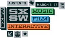South by Southwest (SXSW) is a set of film, interactive, and music festivals and conferences that take place every spring (usually in March) in Austin, Texas ,SXSW 2013 Logo