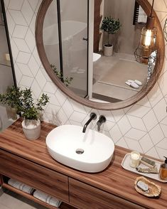 30 Quick and Easy Bathroom Decorating Ideas Best Bathroom Designs, Bathroom Design Luxury, Interior Design Living Room, Baby Bathroom, Bathroom Renos, Small Bathroom, Toilet Design, Amazing Bathrooms, Bathroom Inspiration