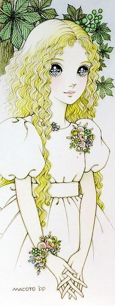 #shojo #vintage #manga * Google for Pinterest pals1500 free paper dolls at Arielle Gabriels The International Paper Doll Society also Google free paper dolls at The China Adventures of Arielle Gabriel *