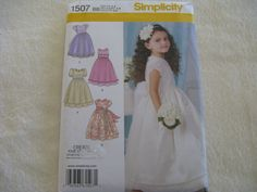 Simplicity Toddler and Child's Special by KCDesignandBuild on Etsy, $3.00