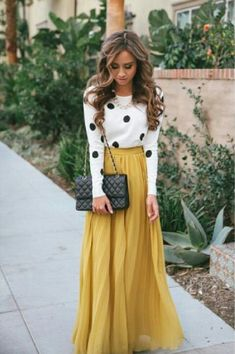 Polka dots :) Love! Modesty