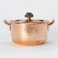 Hand-hammered-copper-saucepan
