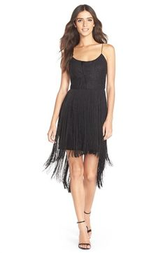 This '20s flapper-style sheath dress is sure to turn heads at the cocktail party on Friday night.