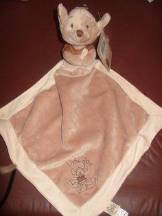 NEW Tesco Disney Baby WINNIE The POOH ROO Kangaroo Comforter/Blankie   eBay