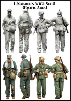 US Marines WW2 Set 5 (Pacific Theatre)