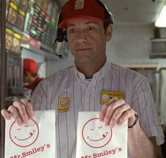 Smile, you're at Mr Smiley's