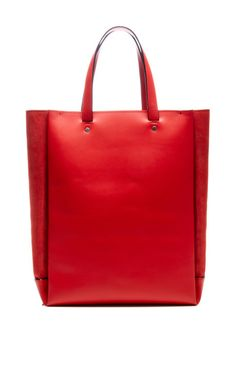 Easy Elliot In Red Suede by Proenza Schouler for Preorder on Moda Operandi