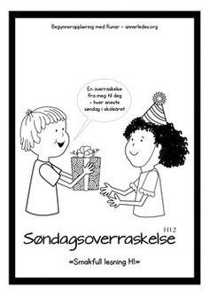 """Les mer om Sndagsoverraskelse H12 - """"Smakfull lesning"""" p www.annerledes.org. Begynneropplring med Runar."""