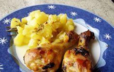 Coscette di pollo alla birra - Semplice e gustosa ricetta delle coscette di pollo alla birra, un secondo gustoso e velocissimo da preparare, che dà un sapore particolare alla carne di pollo.