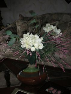 Whimsical silk floral.