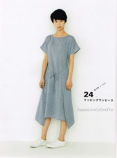 Apron  Apron Dress by Yoshiko Tsukiori - Straight Stitch Sewing - Japanese Pattern Book for Women Clothing - B1299-57 | Flickr - Photo Sharing!