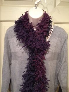 Boutique Fizzle Ruffle Scarf-Figs on Etsy, $16.00