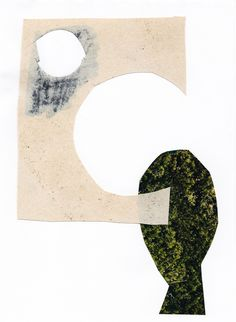 Taizo Matsuyama is based in Berlin and Tokyo and explores abstract compositions in mixed media from found papers and objects. I'm particularly taken with a recent series of minimal monotype print and collages. Careful color combinations and simple yet beautifully assembled shapes are simple, fun, an