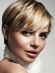Short Sophisticated Blonde Long Pixie Hairstyles