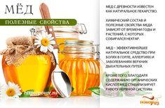 Мёд - полезные свойства