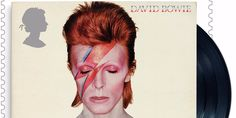 Royal Mail is honouring David Bowie with commemorative stamps — take a look