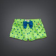 Womens Dot & Heart Print Sleep Shorts | Womens Shop All | GillyHicks.com