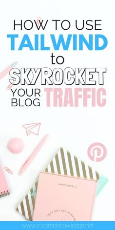 How to Use Tailwind to Skyrocket your Blog | Want to boost your blog traffic? Well, you need to rock Pinterest at first, which is the smartest move you will ever make for your blog. But growing on Pinterest alone and doing everything manually can become overwhelming and inefficient very quickly. That's why you'll need some additional features to finally see some results and the most important, to save time. #tailwindapp #bloggingforbeginners #pinterestmarketing #bloggingtools Social Media Marketing Business, Marketing Software, Online Business, Digital Marketing, Marketing Quotes, Pinterest For Business, Blogging For Beginners, Make Money Blogging, Pinterest Marketing