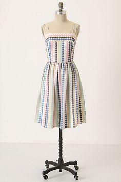 Cooling Palette Dress   Anthropologie