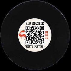 This is the branded Red Rooster Harlem QR code. Scan it with your phone and enjoy the songs playing at RR right now!