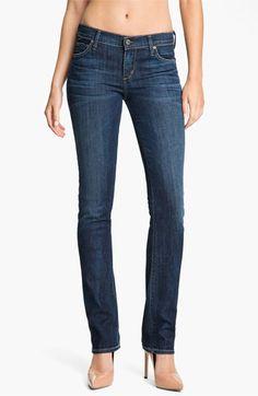 Citizens of Humanity 'Ava' Straight Leg Stretch Denim Jeans (New Spectrum)   Nordstrom
