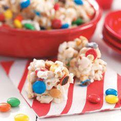 Popcorn Snacks Recipe/inexpensive makes TWO 9 x 13 pans