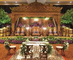 Wedding Reception Backdrop, Wedding Stage, Simple Wedding Decorations, Simple Weddings, Javanese Wedding, Rose Gold Theme, India Wedding, Palembang, Wedding Inspiration