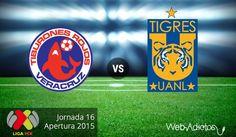 Veracruz vs Tigres, Jornada 16 del Apertura 2015 ¡En vivo por internet! - http://webadictos.com/2015/11/06/veracruz-vs-tigres-apertura-2015/?utm_source=PN&utm_medium=Pinterest&utm_campaign=PN%2Bposts