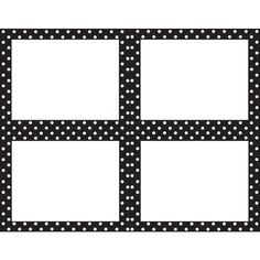 Red And Black Polka Dot Border ❤ liked on Polyvore featuring borders, frames and picture frame