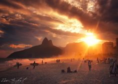 Relaxing in Rio II by Isac Goulart, via 500px
