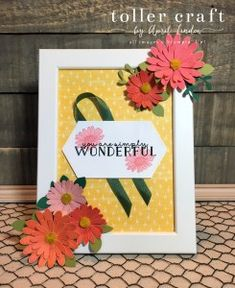 Daisy Lane Picture Frame