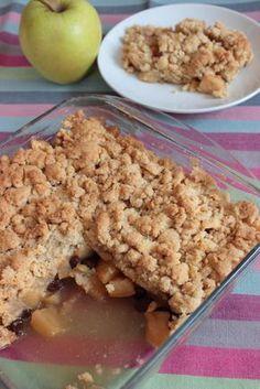 Cocina – Recetas y Consejos Brownie Desserts, Apple Desserts, No Bake Desserts, Dessert Recipes, Apple Crumble Receta, Apple Cinnamon Cake, Sweet Corner, Pillsbury Recipes, Dessert Bread