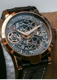 Armin Strom Skeleton Fire Watch - The Armin Strom Skeleton Pure watches have the…