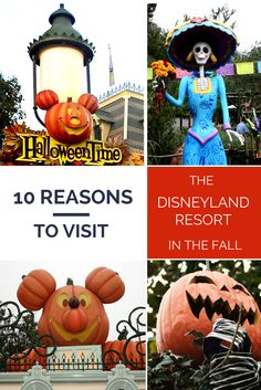 There's no better time to visit the #Disneyland Resort than during the fall!  Here are 10 reasons to plan your family's trip during this magical time. #HalloweenTime
